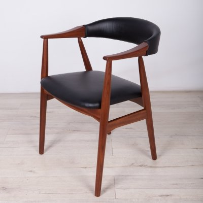 Mid-Century Armchair by Th. Harlev for Farstrup Møbler, 1960s