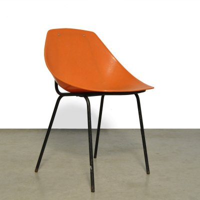 Coquillage chair by Pierre Guariche for Meurop, Belgium 1960s