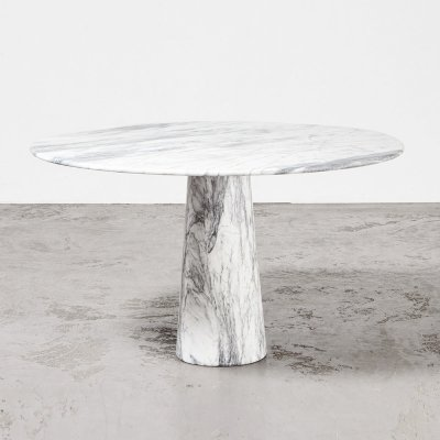 Marble Dining Table, Italy 1970s