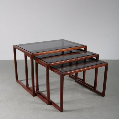 Nesting tables by G-plan, UK 1960s