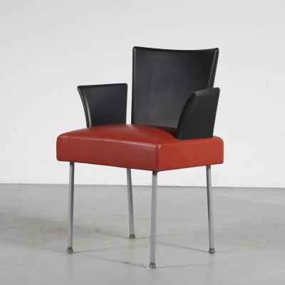 1980s 'Calvi' Side chair by Gijs Papavoine for Montis, Netherlands