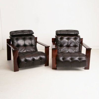 Pair of Percival Lafer Lounge Chairs, c.1960