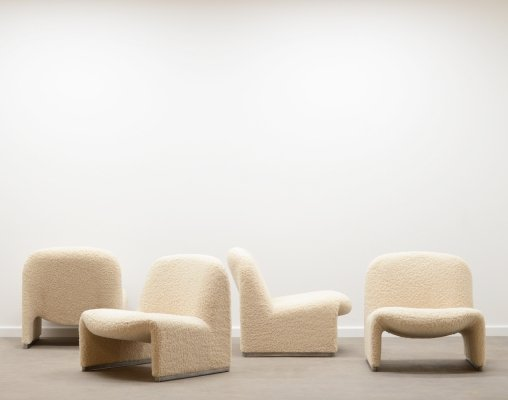 Alky chair by Giancarlo Piretti for Castelli, Italy 60s