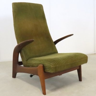 Lounge chair by Rolf Rastad & Adolf Relling for Gimson & Slater, 1960s