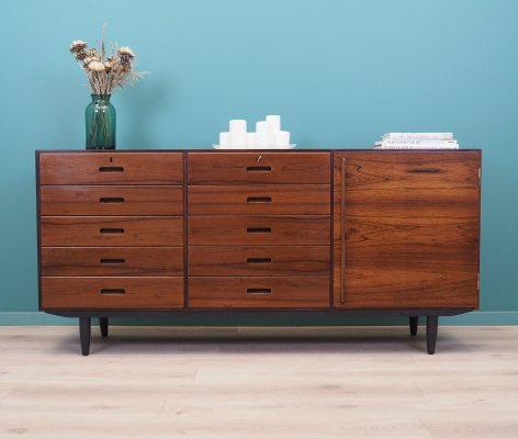 Rosewood chest of drawers by Kai Winding, Denmark 1970s