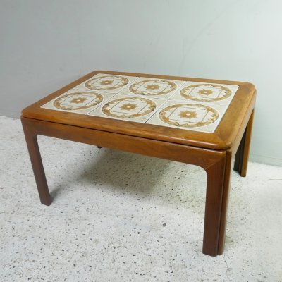 1960's mid century G Plan tiled coffee table