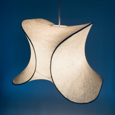 Cocoon Pendant lamp by Friedel Wauer for Goldkant Leuchten, Germany 1960's