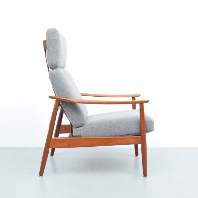 2 x FD164 lounge chair by Arne Vodder for France & Son, 1960s